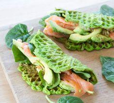 Vaffeljernet: Meget mere end vafler Keto Recipes, Snack Recipes, Healthy Recipes, Low Cal Lunch, Food Hacks, Food Inspiration, Healthy Snacks, Meal Planning, Meal Prep