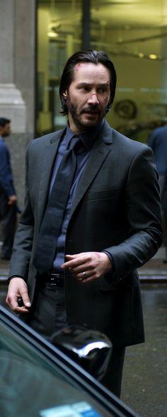 Keanu ♡♥ Reeves in john wick