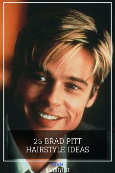 Discover the best easy pull-off Brad Pitt haircut ideas. Don't just dream about it, do it. Choose your favorite hairstyle from classic, faux hawk & more. Brad Pitt Haircut, Faux Hawk, Just Dream, Pull Off, Haircuts For Men, Your Hair, Hair Cuts, Hairstyle Ideas, Learning