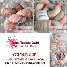 Colour Club available from www.sarastexturecrafts.com Follow the link for the reveal post!