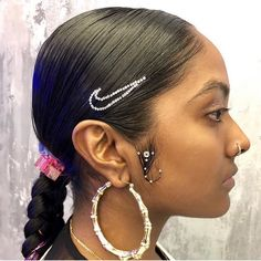 Cute International Woman's Day designs going on today and tomorrow at the salon! You can book this design via the app! High School Hairstyles, Try On Hairstyles, Popular Hairstyles, Black Women Hairstyles, Frontal Hairstyles, Ponytail Hairstyles, Hair Inspo, Hair Inspiration, Looks Cool