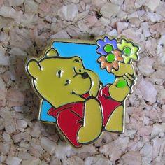 Enamel Winnie the Pooh Lapel Hat Pin