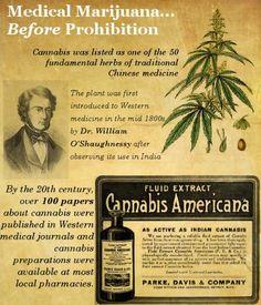 Medical Marijuana before prohibition
