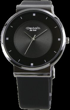 Catch the time....classy black
