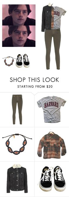 """Jughead Jones - Riverdale"" by shadyannon on Polyvore featuring True Religion, Zayiana, Topshop and Vans"