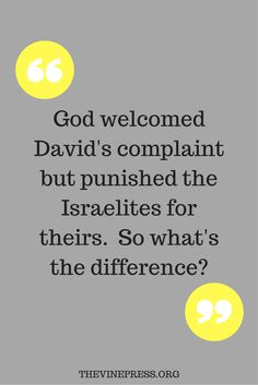 How can we know the difference between good and bad complaining? The answer lies…