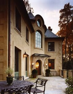 French Provincial, I like the portico