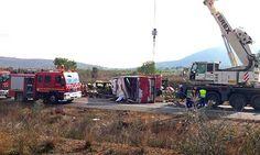 Spain bus crash kills 13 exchange students