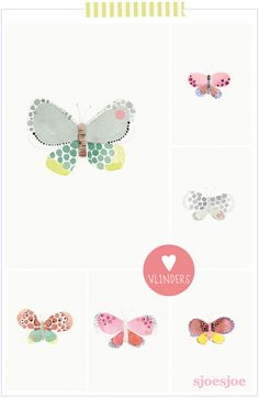 Butterfly Sjoesjoe post for Flow magazine