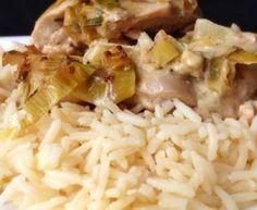 filet de poulet, riz, fond de veau, poivron rouge, carotte, Sel, Poivre, Huile d'olive