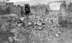 Destroyed street in Armenian quarter of Erzingan, 1917