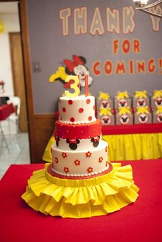 Minnie Mouse Birthday Party Ideas | Photo 7 of 63 | Catch My Party