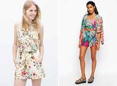 Wear these two-piece sets during the warmer months.