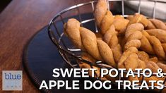 Dog Discover Sweet Potato and Apple Dog Treats A great treat for your favorite furry friend. Homemade dog treats are so good for your pup because you know exactly what goes in the recipe! Great and easy gift giving idea too! Dog Cookie Recipes, Easy Dog Treat Recipes, Homemade Dog Cookies, Dog Biscuit Recipes, Homemade Dog Food, Dog Food Recipes, Homemade Dog Biscuits Recipe Easy, Doggie Cookies Recipe, Easy Dog Biscuit Recipe
