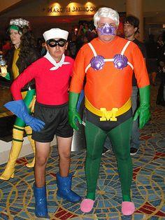 Dodgeball Costumes on Pinterest | White Trash Costume, Teenage Mutant ... Quailman Costume
