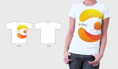38 Creative Examples of Promotional T-Shirts Shirt Logo Design, Polo Shirt Design, Tee Shirt Designs, Company Swag, Company Logo, Brand Campaign, Business Branding, Branded T Shirts, Promotion