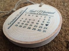 Baby's Birthday Wood Engraved Christmas by DarkHorseEngraving