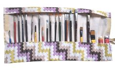 Brushes and tool organizer#tools#organizer#rollup $12.80