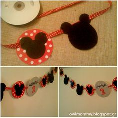minnie mouse garland diy