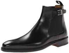 Amazon.com: Magnanni Men's Ciro Chelsea Boot,Black,13 M US: Shoes