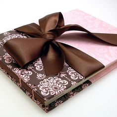 Damask Rose Guest Book | This stylish journal in a sophistic… | Flickr