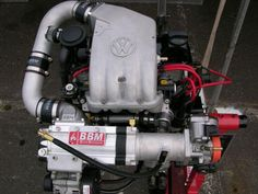 u.s 8v with crossflow head and bbm supercharger