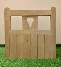 enclosed heart gate | eBay Wooden Garden Gate, Wooden Gates, Landscaping Retaining Walls, Backyard Landscaping, Steel Fence Posts, Gate Hinges, Garden Fence Panels, Chicken Garden, Shed Doors