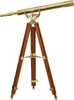 Barska - Anchormaster Telescope - Gold