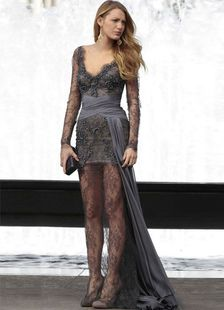 Back Draping Deep Gray Sash Lace Gossip Girl Prom Dress. Get unbelievable discounts up to 65% Off at Milanoo using Coupon & Promo Codes.