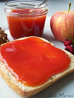 À la Marion : Hagebutten-Apfel-Marmelade