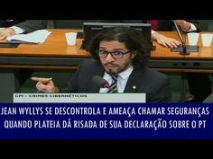 Folha Política: Bolsonaro desmascara Jean Wyllys e mostra como ele quer calar a internet para proteger Dilma e o PT; veja vídeo