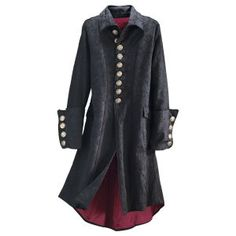 Legacy Brocaded Coat - New Age & Spiritual Gifts at Pyramid Collection