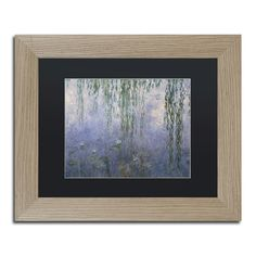 Water Lilies III 1840-1926 by Claude Monet Framed Painting Print
