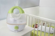 Humidifiers could be your ultimate winter helpers. Consider adding one of these to the nursery.