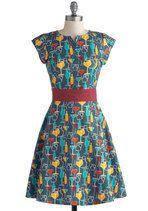 Toast to Coast Dress | Mod Retro Vintage Dresses | ModCloth.com