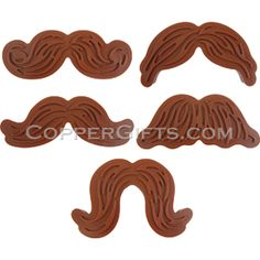 Munchstaches Cookie Cutters