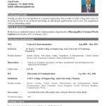 Best Resume Format For Freshers Pdf