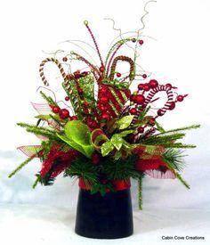 Top Hat Centerpiece Floral Arrangement