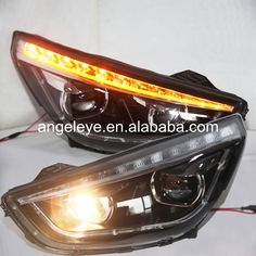 429.88$  Watch now - http://aliidh.worldwells.pw/go.php?t=1000002049984 - For HYUNDAI IX35 Tucson headlights LED head lamp 2009-2012 year TLZ 429.88$
