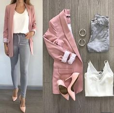 Summer Work Outfits, Casual Work Outfits, Business Casual Outfits, Professional Outfits, Office Outfits, Mode Outfits, Classy Outfits, Chic Outfits, Spring Outfits