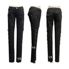 Pantalones Gotico Punk estilo Ropa Gotica