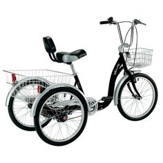 3 Wheel Bikes For Seniors Adult Tricycle Wheel