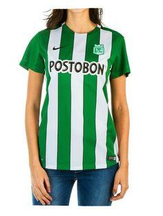 Camiseta M/C Dama Oficial Atlético Nacional 2016  www.tiendavitsa.com.co o en www.tiendatribunaverde.com