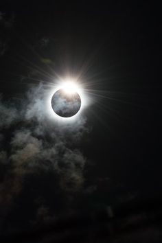 The Diamond Ring Melanie Thorne (UK) The dramatic moment that our star, the sun, appears to be cloaked in darkness by the moon during the Total Solar Eclipse of 9th March 2016 in Indonesia. The sun peers out from behind the moon and resembles the shape of a diamond ring, caused by the rugged edge of the moon allowing some beads of sunlight to shine through in certain places.