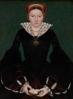 Portrait of a noblewoman, c.1550 (oil on panel)
