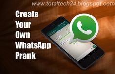 TechJunior: The Biggest Contribution Of WhatsApp Prank To Humanity.