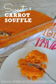 Who knew carrots could taste so good? Check out the simple recipe for sweet carrot souffle and you'll get hooked at the first bite!