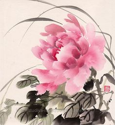 Суми-э Sumi E Painting, Japan Painting, China Painting, Watercolor Paintings, Japanese Drawings, Japanese Artwork, Art And Illustration, Watercolor And Ink, Watercolor Flowers
