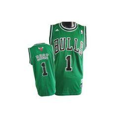 43749e60d Camiseta Chicago Bulls verde - Rose - Basket3C.com ¡Tu tienda de Basket  online!