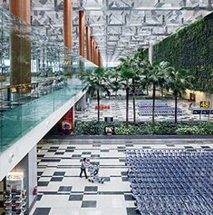 Things to do in Changi Airport, Singapore. Take a dip in the pool before a long haul flight with kids!